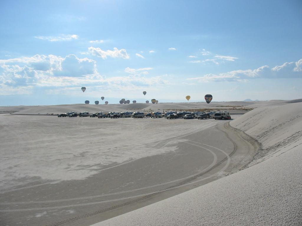 Airstreams Among The Dunes