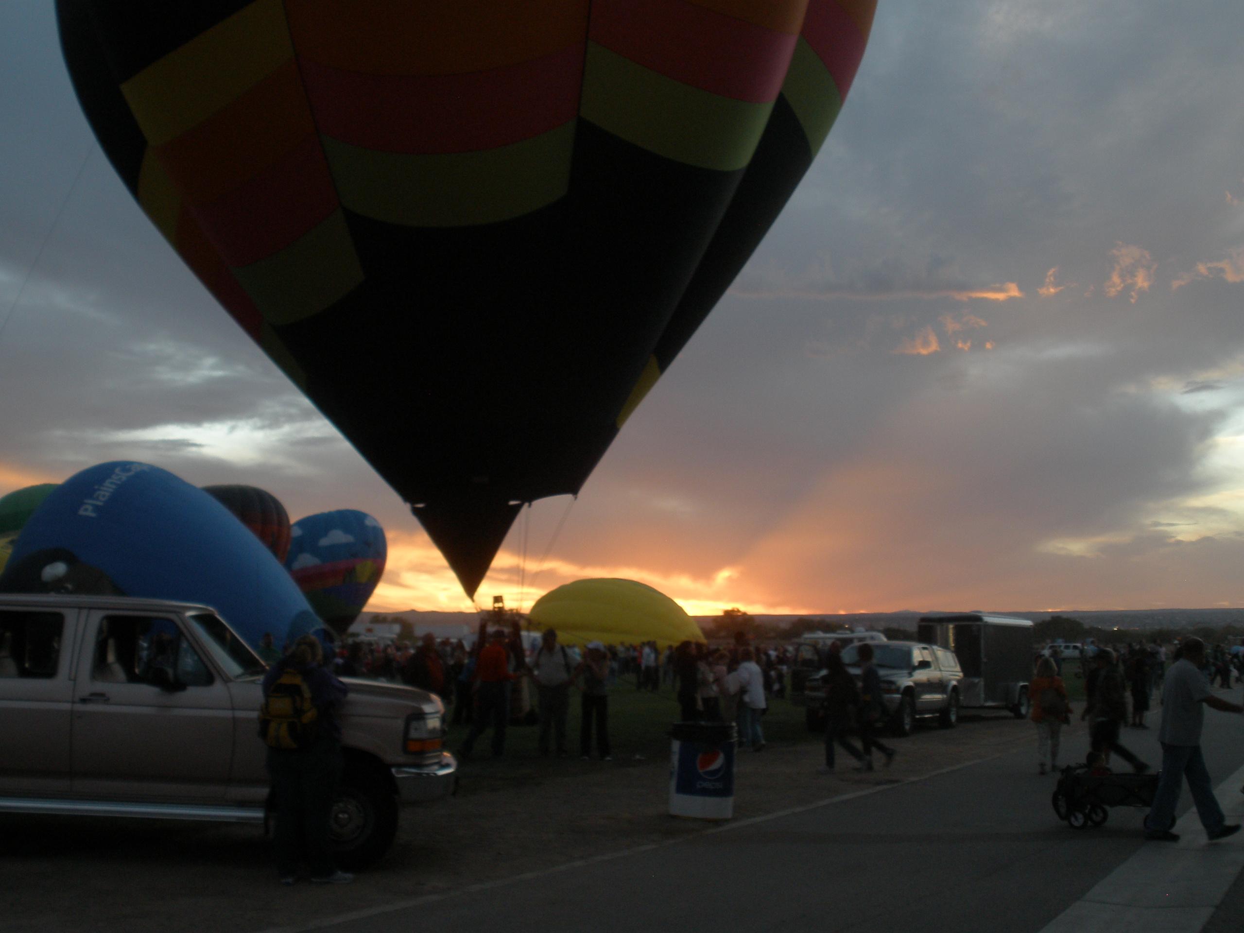 Sundown At Balloon Fields