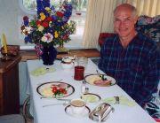 Airstream breakfast