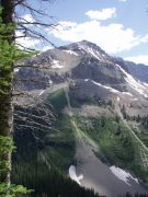 Mtn. snow remnants