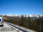 Crossing Monarch Pass - Colorado