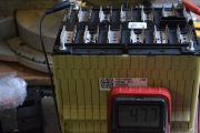 Lion Nmc Batter, Restrapping For 12vdc