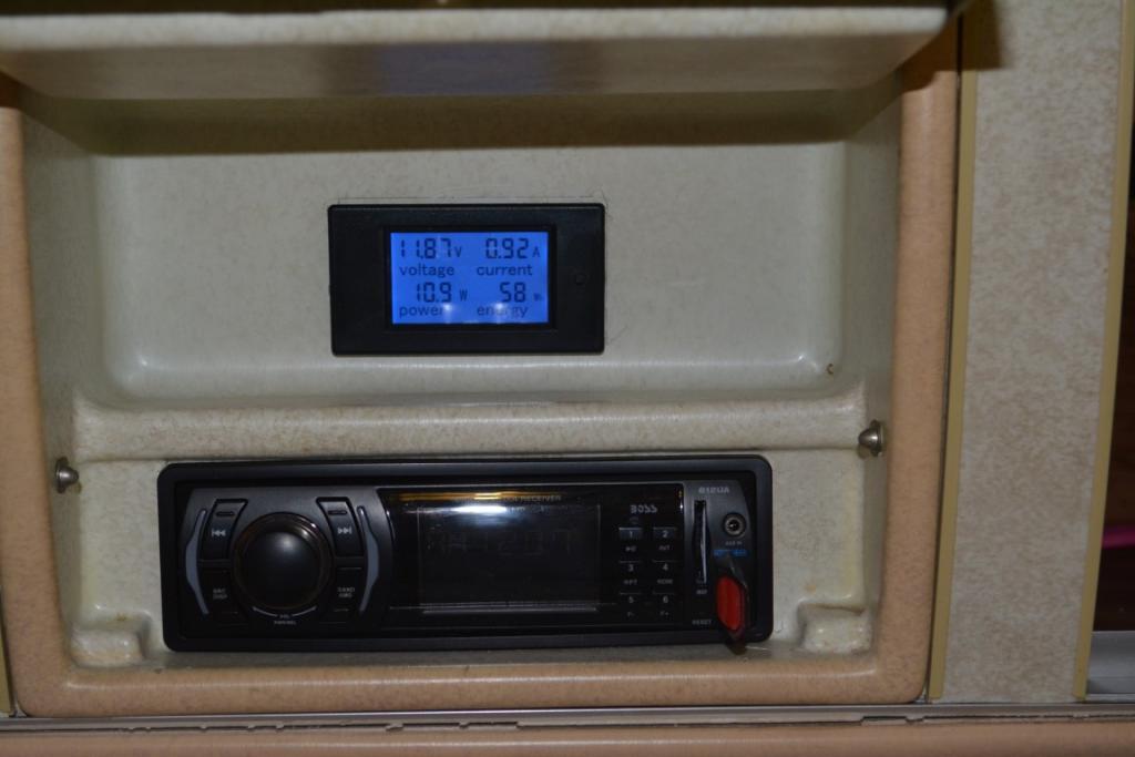 House Battery Power Meter