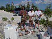 Lobster fishing on Hawk's Cay, Bahamas