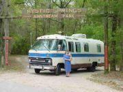 2002 Mystic Springs Rally - Edie and Windsor