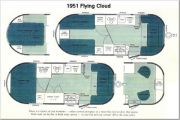 1951 Flying Cloud Factory Layouts