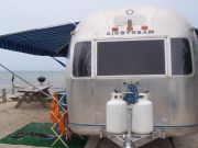 Airstream by the Atlantic