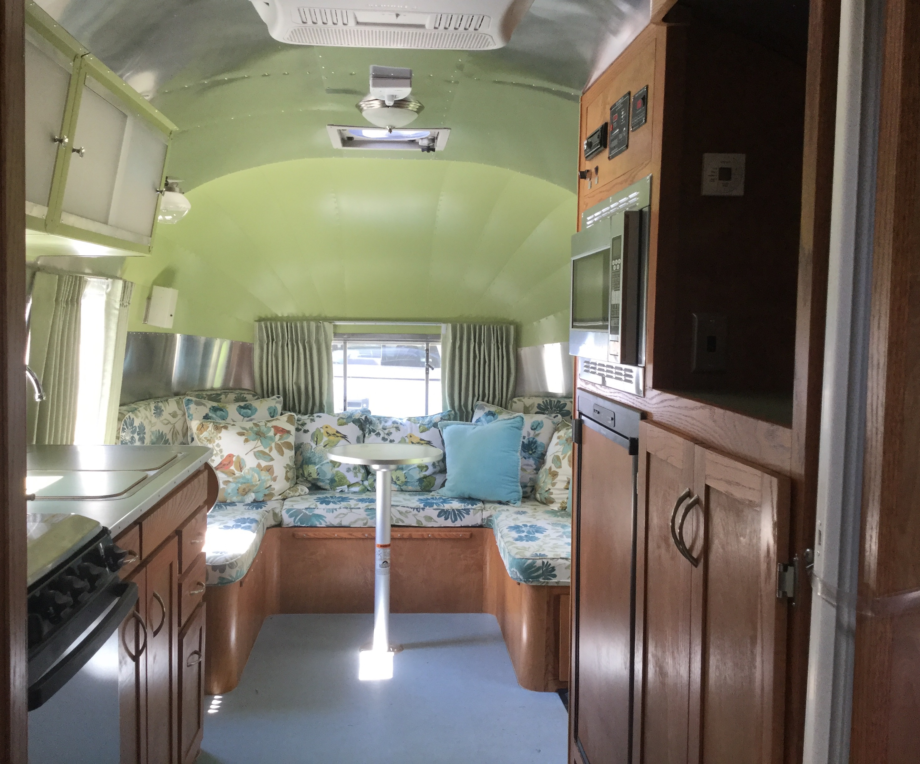 1955 Flying Cloud Interior