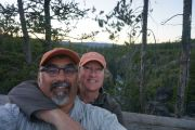 Bob N Nanc In Yellowstone Np 2013