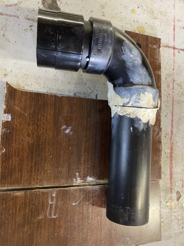 Improper Installation Of The Sink Drain Line