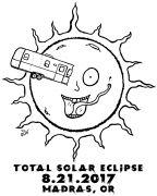 Solar Eclipse Madras Oregon 2017 T-shirt