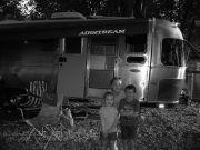 B&W Airstream family Summer Sunset