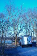 Basecamp Cold Morining On Ottawa Lake