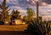 Airstream And Agave