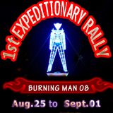 1st Expeditional Burning Man Rally