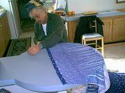 dad sewing