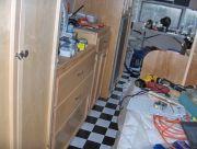 Closet  Dresser Fridge Bed Relocated