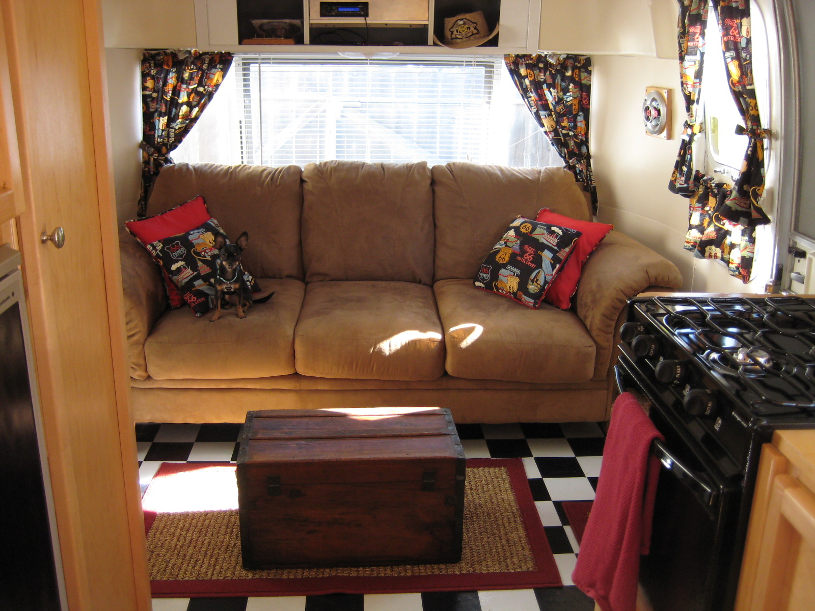 Couch Living Area