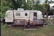 Photos of lilmouse and family with our '76 Argosy 26