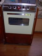 Repaired Stove Cabinet