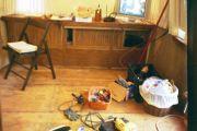 cork floor and wall cushions