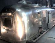 Early NASA Airstream Isolation Trailer