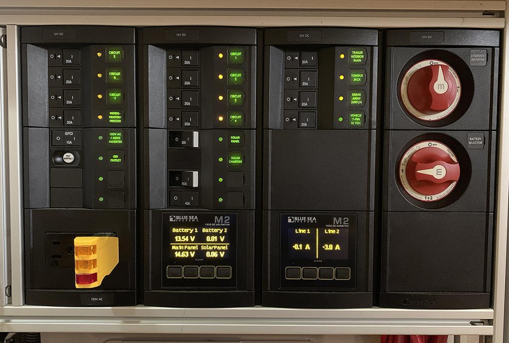 New Dc Power Panel