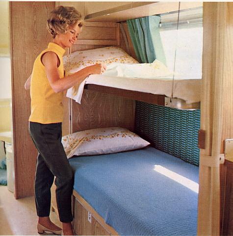 Elegant Fold Down Trailer Amp Camper Beds  Moduline Cabinets