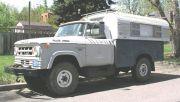 68 Dodge W300 Alaskan Camper