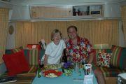 abe and melissa 1st dinner