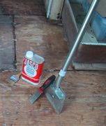 Floor tile & adhesive removal tools