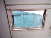 Dirty old window...