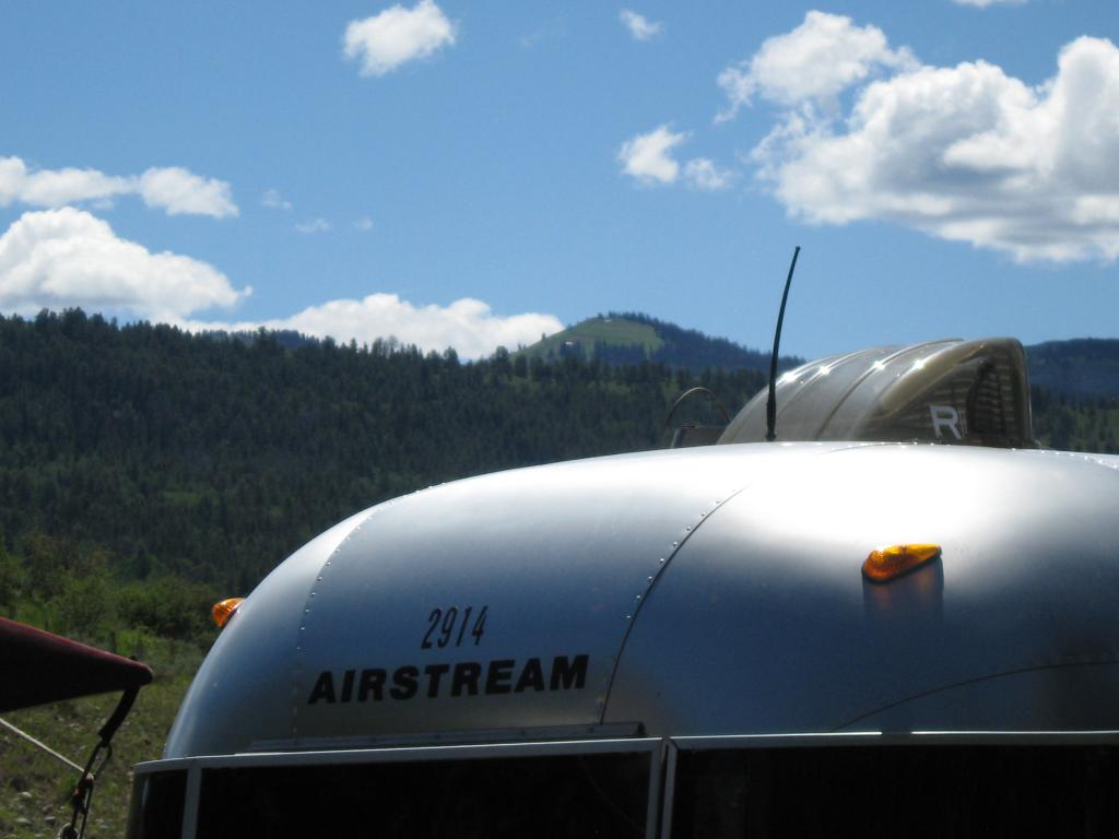 The Rockies From An Airstream