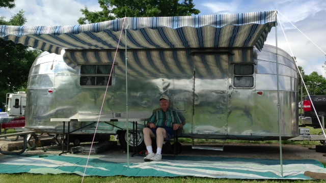 Airstream Awning 9600 Arcadia Skipper Vintage Trailer
