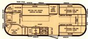 1965 Safari KING bed forward, Twin Lay-out