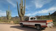 With Our 75 Silverado In Arizona On The Apache Trail