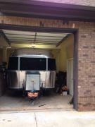 Airstream Indoor Garage
