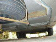 under mount tire carrier