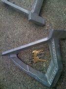 Bracket (keys For Size Reference)