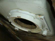 '67 Caravel Broken Blackwater Tank $40 Fix