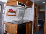 94 25' Excella Twin Bed Galley View