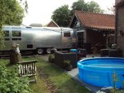 Airstream Life In Backgarden