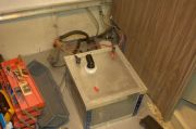 Battery Box On Epoxied And Painted Floor