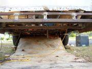 Rear cross member rebuilt
