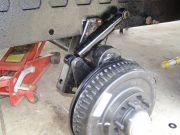 Shock Absorber Install (curbside rear)