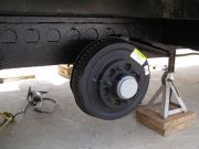Axle Installed