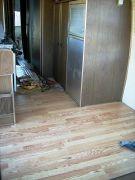 Laminate Floor install