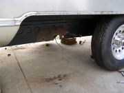Rear Axle Removed