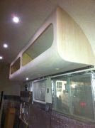 Overhead Cabinet Above Kitchen.
