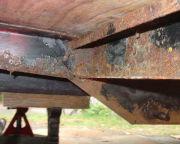2001 Bambi frame rust